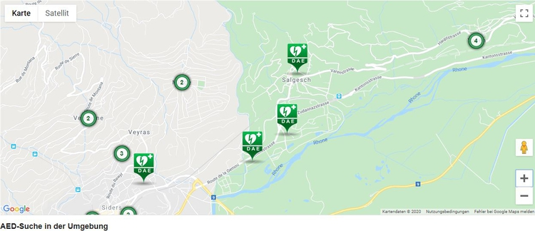 Standorte Salgesch